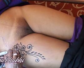 Mona gallery 29. Mona bhabhi getting tatto on her lascivious